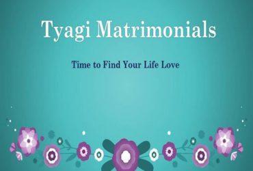 Tyagi Matrimony Ghaziabad