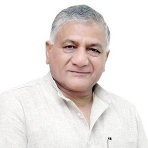General V.K Singh MP Ghaziabad