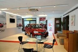 Uttam Toyota showroom Ghaziabad