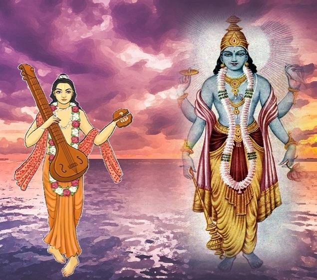Why Narad Muni cursed Shree Vishnu?
