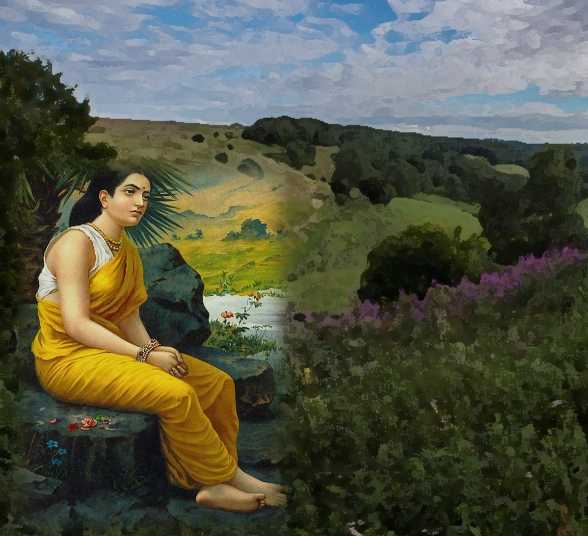 Why Sita had to face all hardships alone in her human avtar?